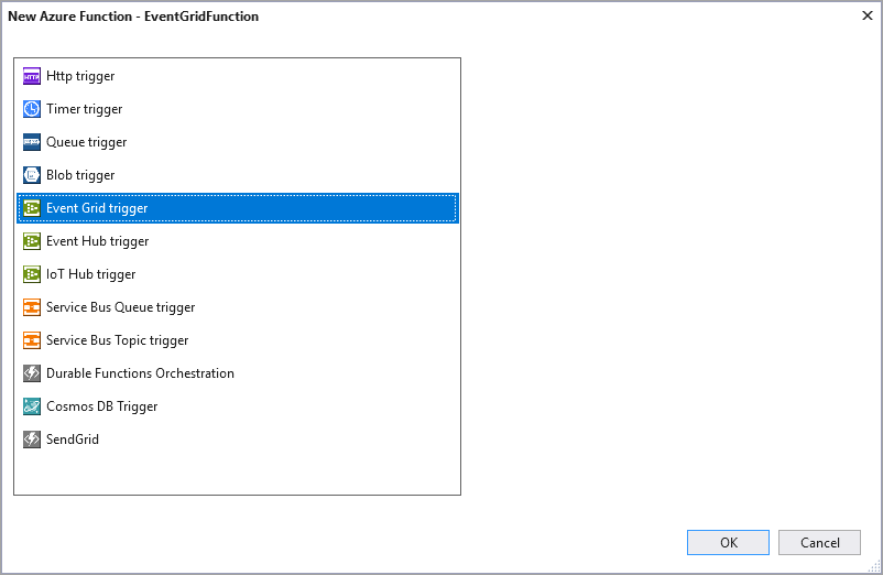 Azure Functions Event Grid local debugging | Microsoft Docs