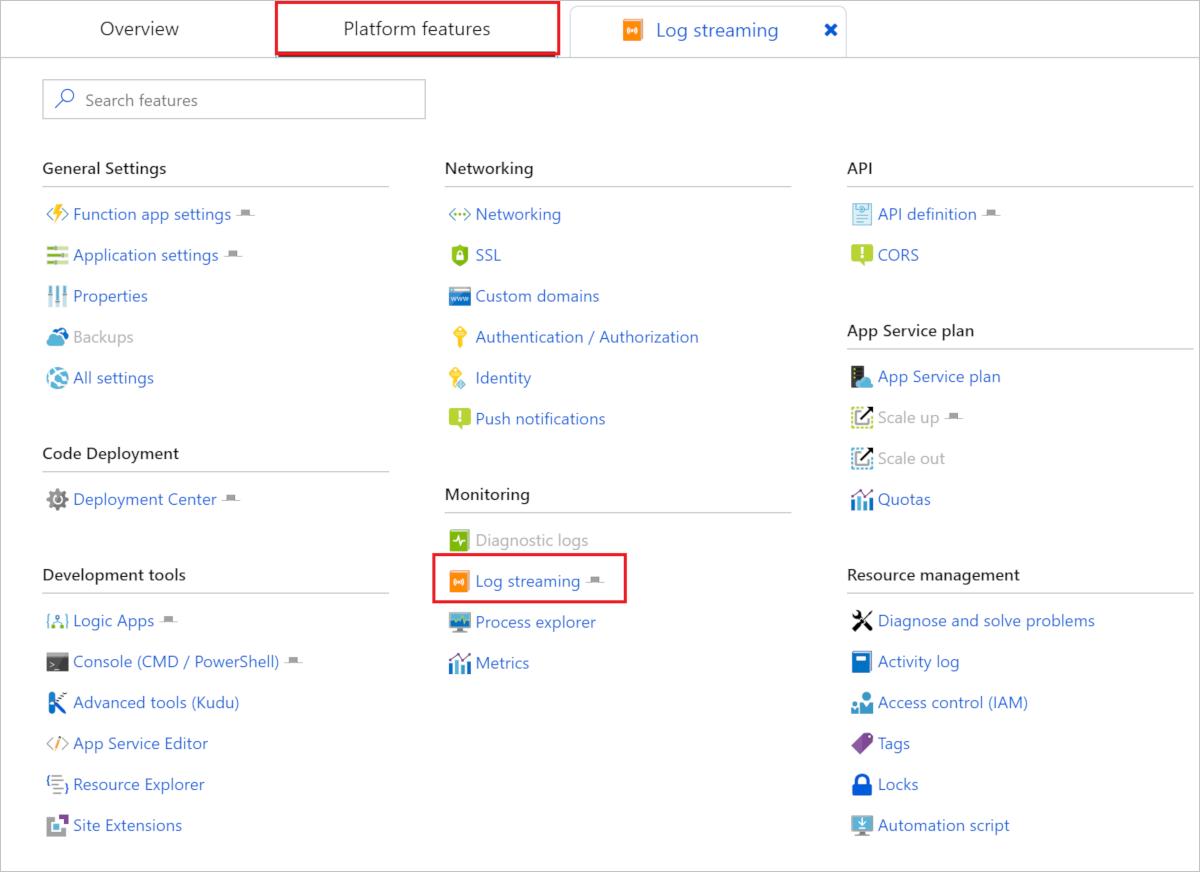 Monitor Azure Functions | Microsoft Docs