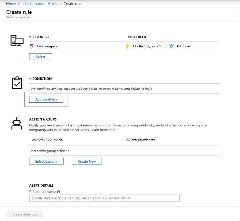Set Alerts in Azure Application Insights | Microsoft Docs