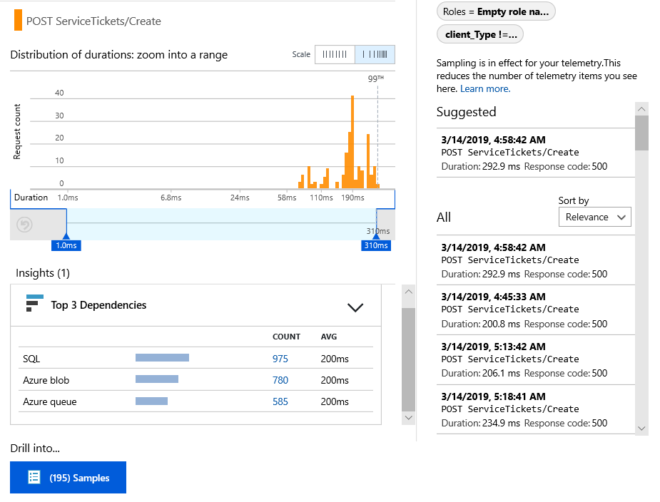 Java web app analytics with Azure Application Insights | Microsoft Docs
