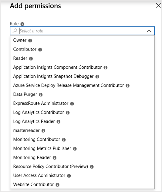 0003 user roles - Add Application Insights To Existing Project