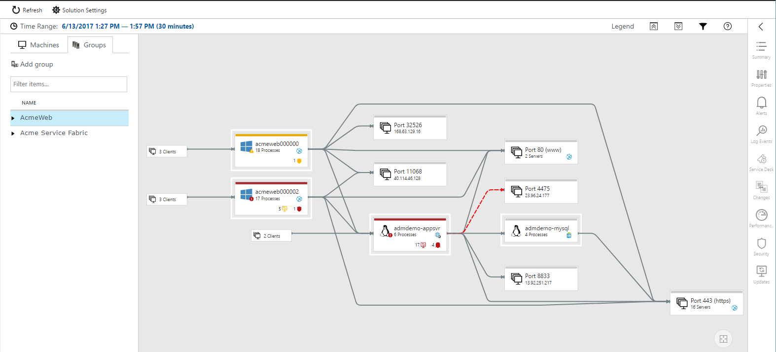 Using Service Map solution in Azure | Microsoft Docs
