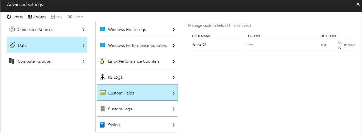 Custom fields in Azure Monitor | Microsoft Docs