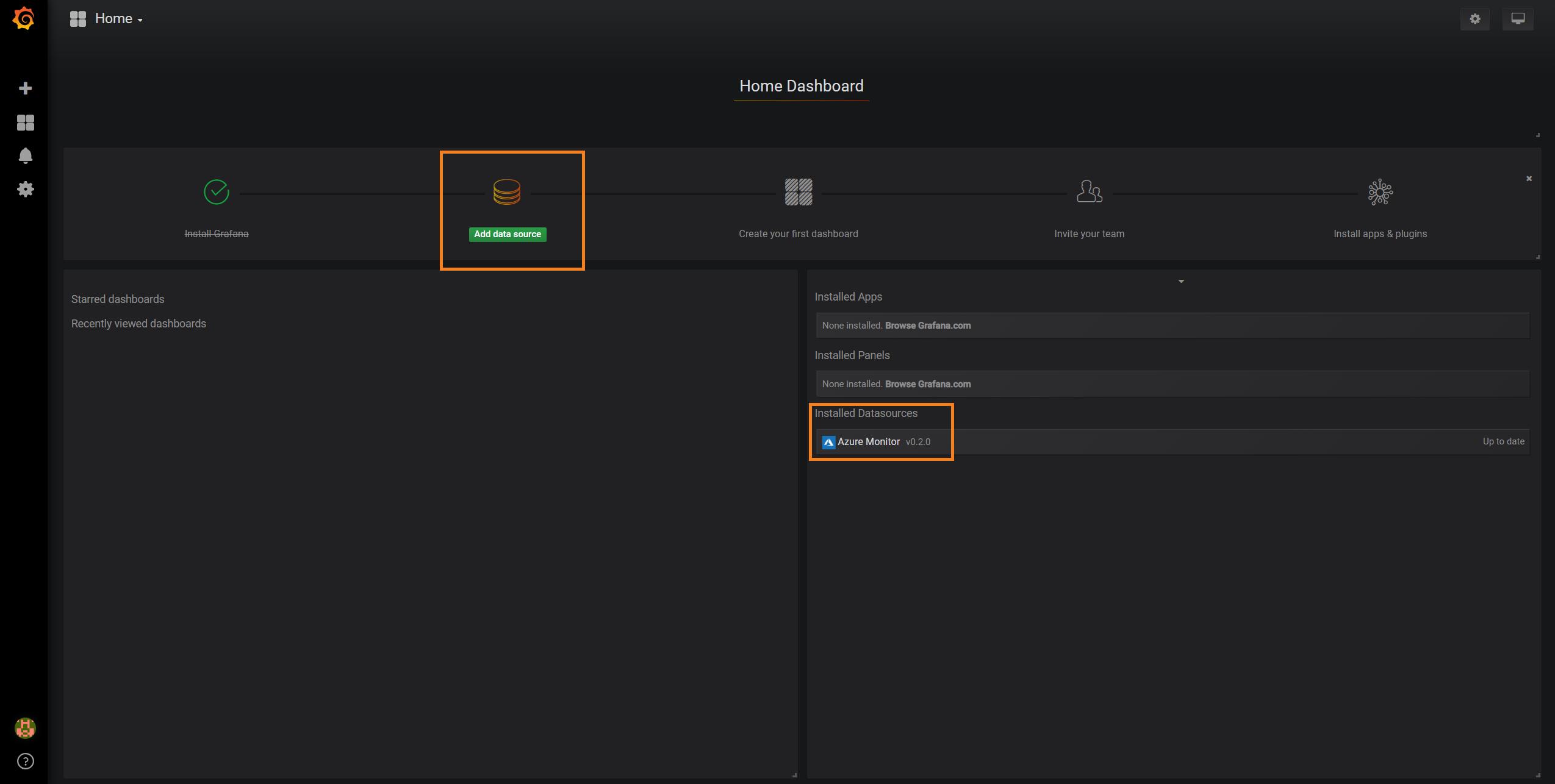 Monitor Azure services and applications using Grafana | Microsoft Docs