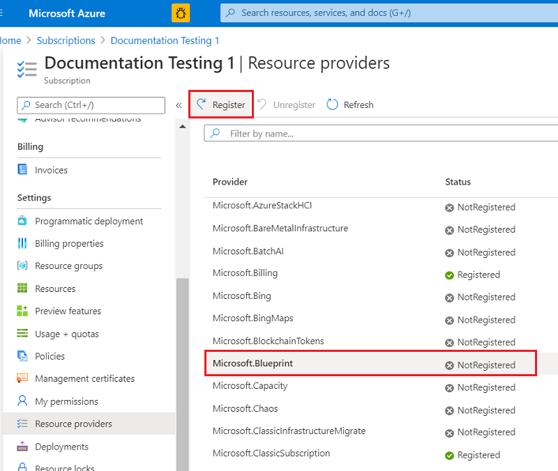 Resource providers and resource types - Azure Resource Manager | Microsoft  Docs