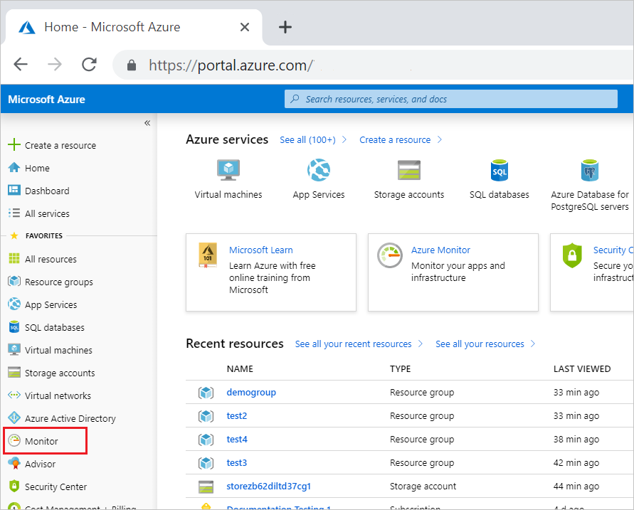 View Azure activity logs to monitor resources   Microsoft Docs