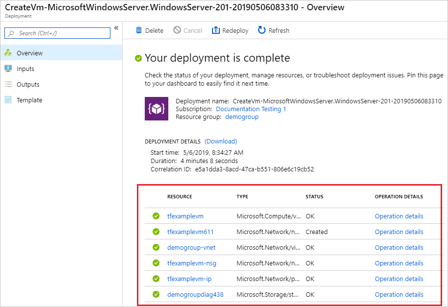 Deployment history with Azure Resource Manager | Microsoft Docs