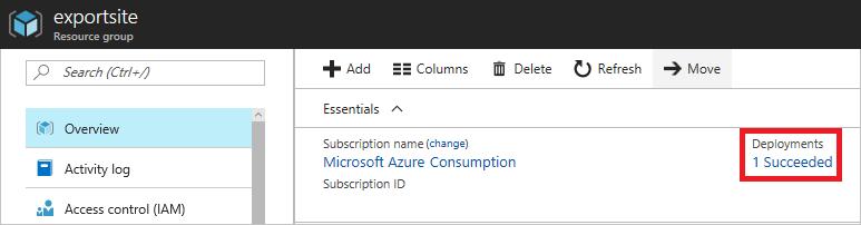 Export Azure Resource Manager template | Microsoft Docs
