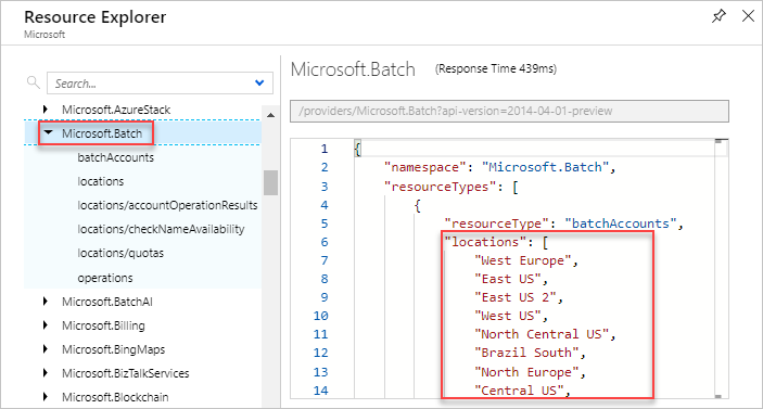 Azure resource providers and resource types | Microsoft Docs