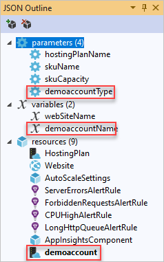 Create & deploy Visual Studio Azure resource group projects