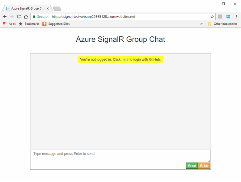 Guide for authenticating Azure SignalR Service clients