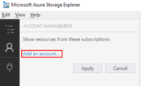 Add an Azure Stack account