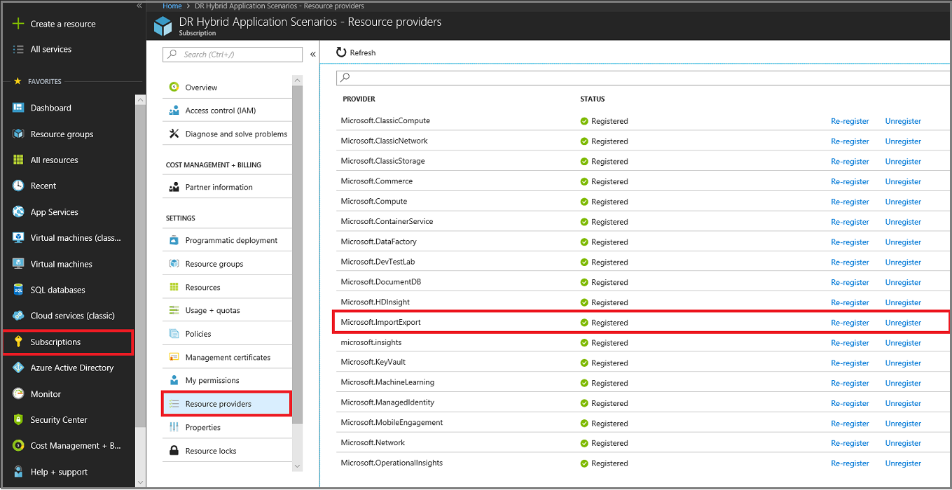 Offline backup seeding using the Azure Backup Import/Export service