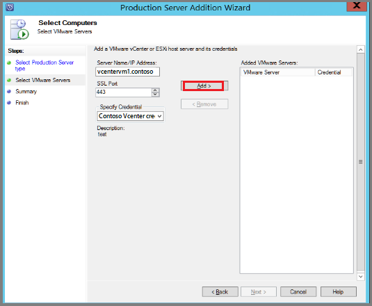 Back up VMware VMs with Azure Backup Server | Microsoft Docs