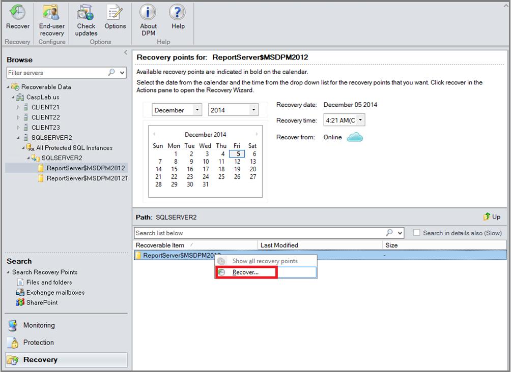 Azure Backup for SQL Server workloads using DPM | Microsoft Docs