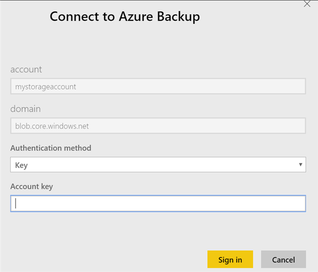 Configure reports for Azure Backup | Microsoft Docs