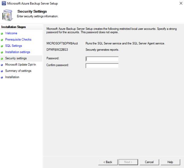 Use Azure Backup Server to back up workloads to Azure