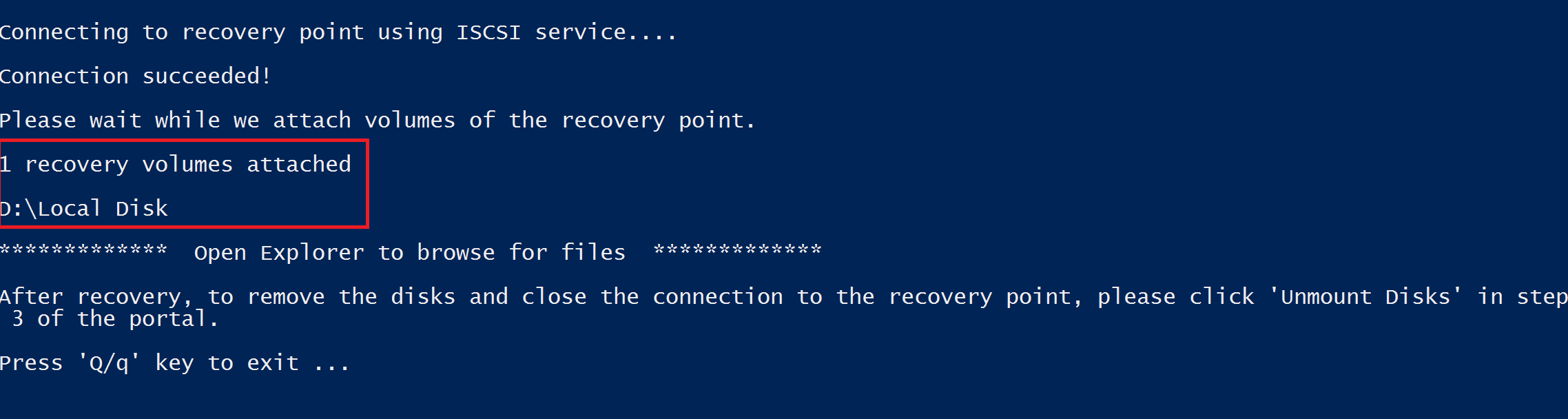 File Recovery Blade