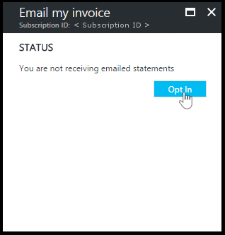 Receipts Def Pdf Download Azure Billing Invoice And Daily Usage Data  Microsoft Docs Get A Receipt Excel with Example Receipt Of Payment Screenshot That Shows The Optin Flow How To Write Up An Invoice Pdf
