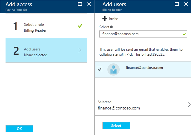 How Do You Make An Invoice Excel Manage Access To Azure Billing Using Roles  Microsoft Docs Australian Tax Invoice Template Excel with Custom Receipt Pdf Screenshot That Shows To Enter Email To Invite Someone At T Invoice