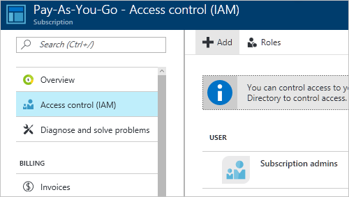 manage access to azure billing using roles | microsoft docs, Invoice templates