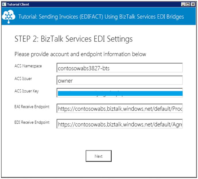 tutorial process edifact invoices using azure biztalk services microsoft docs