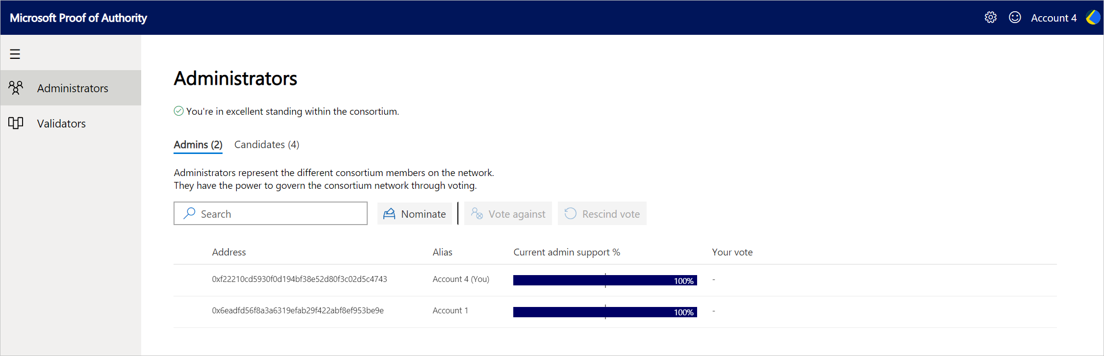 Ethereum Proof-of-Authority Consortium - Azure   Microsoft Docs
