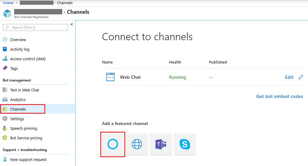 Connect a bot to Cortana - Bot Service | Microsoft Docs