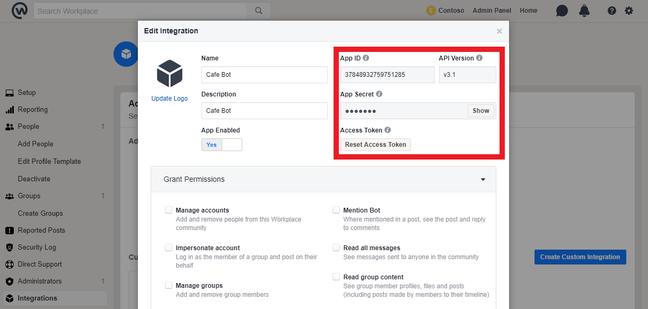 Connect a bot to Facebook Messenger - Bot Service | Microsoft Docs