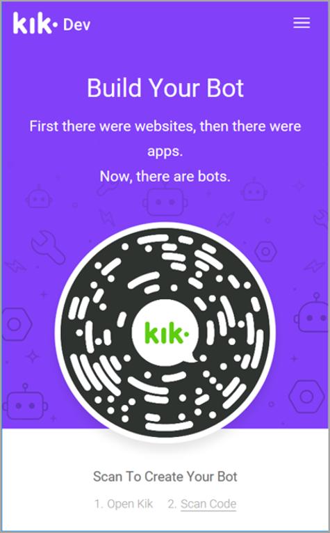Connect a bot to Kik - Bot Service | Microsoft Docs