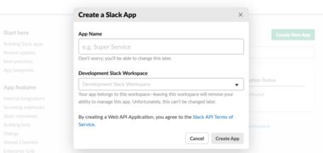 Connect a bot to Slack - Bot Service   Microsoft Docs