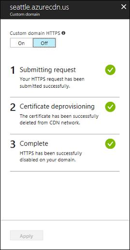 Tutorial - Configure HTTPS on an Azure CDN custom domain | Microsoft ...