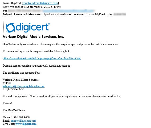 Tutorial Configure Https On An Azure Cdn Custom Domain Microsoft