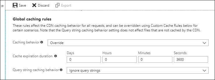 Manage expiration of web content in Azure CDN | Microsoft Docs