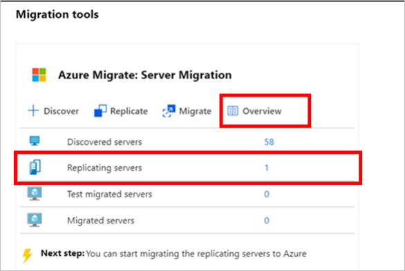 Rehost an app on Azure VMs with Azure Site Recovery