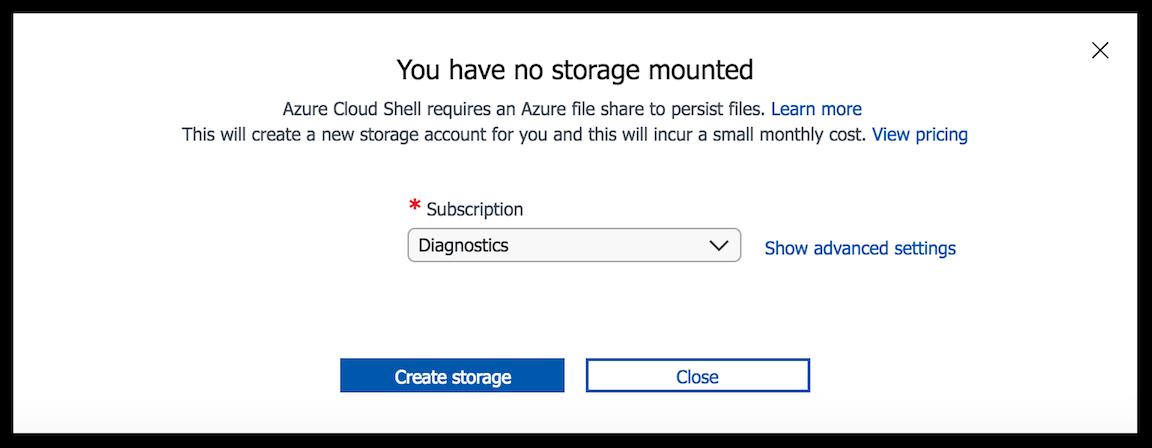 Persist files in Azure Cloud Shell | Microsoft Docs