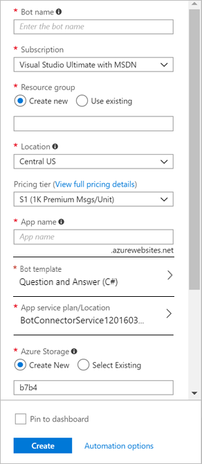 How to create a ChatBot with Microsoft Azure and the QnA