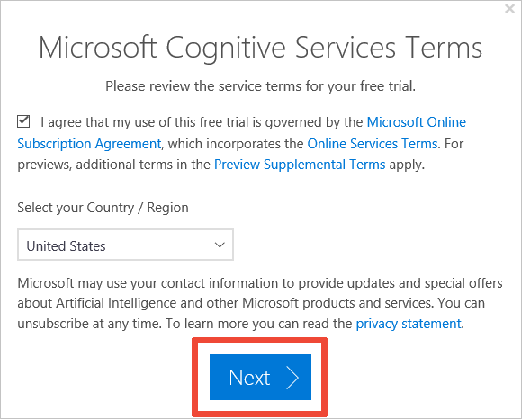 Try Speech Services For Free Azure Cognitive Services Microsoft Docs