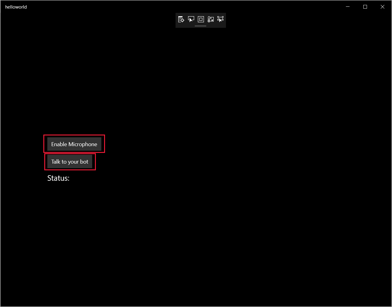 Quickstart: Custom voice-first virtual assistant (Preview