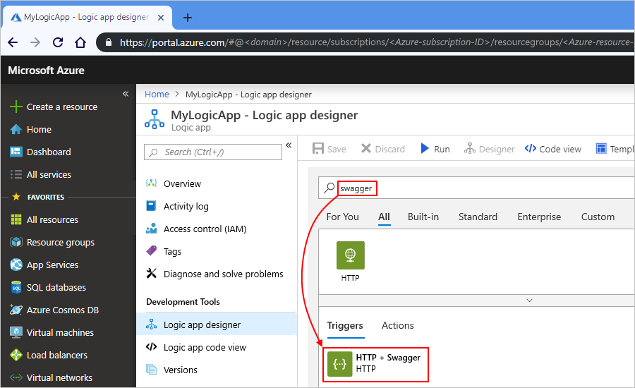 Connect to REST endpoints from Azure Logic Apps | Microsoft Docs