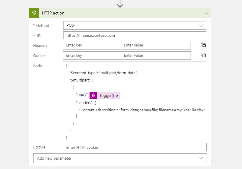 Connect to HTTP or HTTPS endpoints from Azure Logic Apps