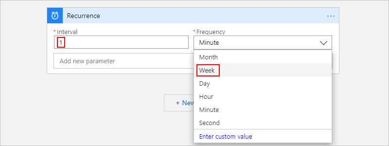 Schedule recurring tasks with Recurrence trigger - Azure Logic Apps