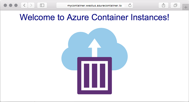 Quickstart - Deploy Docker container to Azure Container Instances