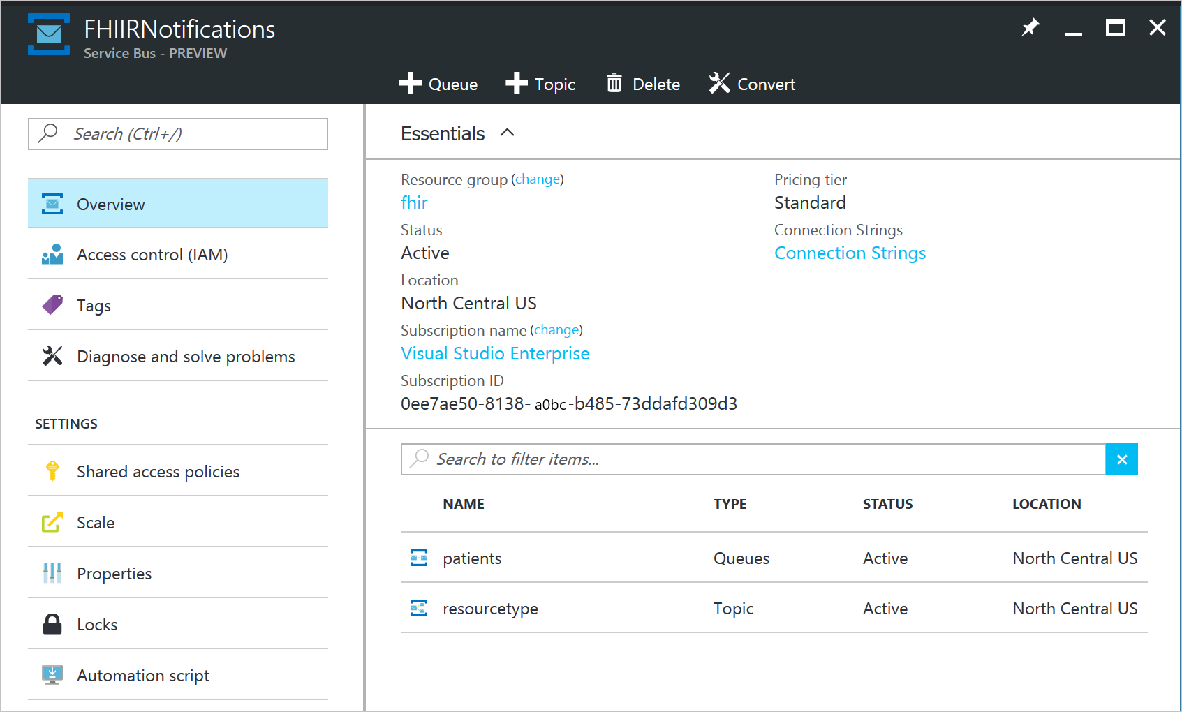 Change feed for HL7 FHIR resources - Azure Cosmos DB