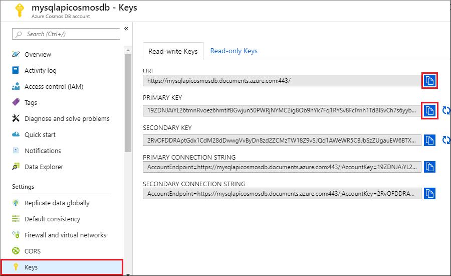 Azure Cosmos DB: Build a Node js app using JavaScript SDK to