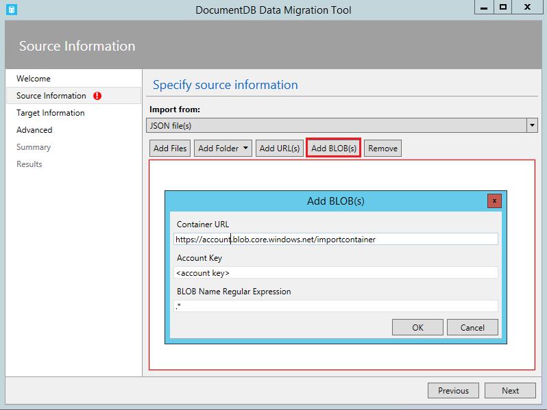Database migration tool for Azure Cosmos DB   Microsoft Docs