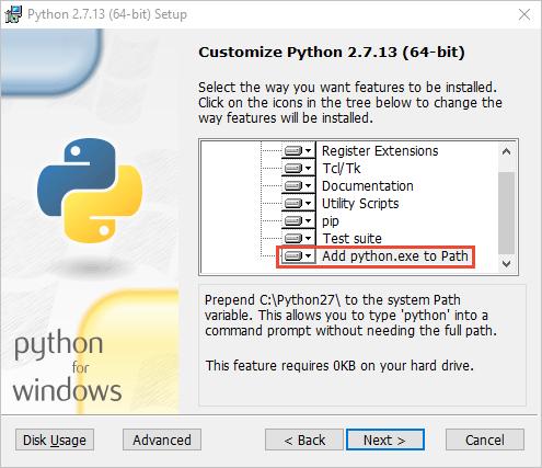 python 2.7.11