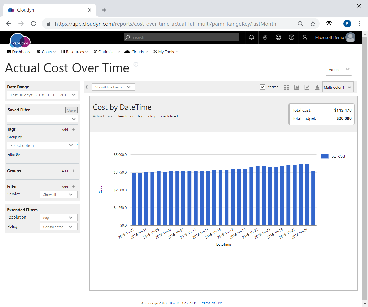 Tutorial review usage and costs in azure cost management to view only spending for azure services apply the service group and then filter for all azure services the following image shows baditri Image collections