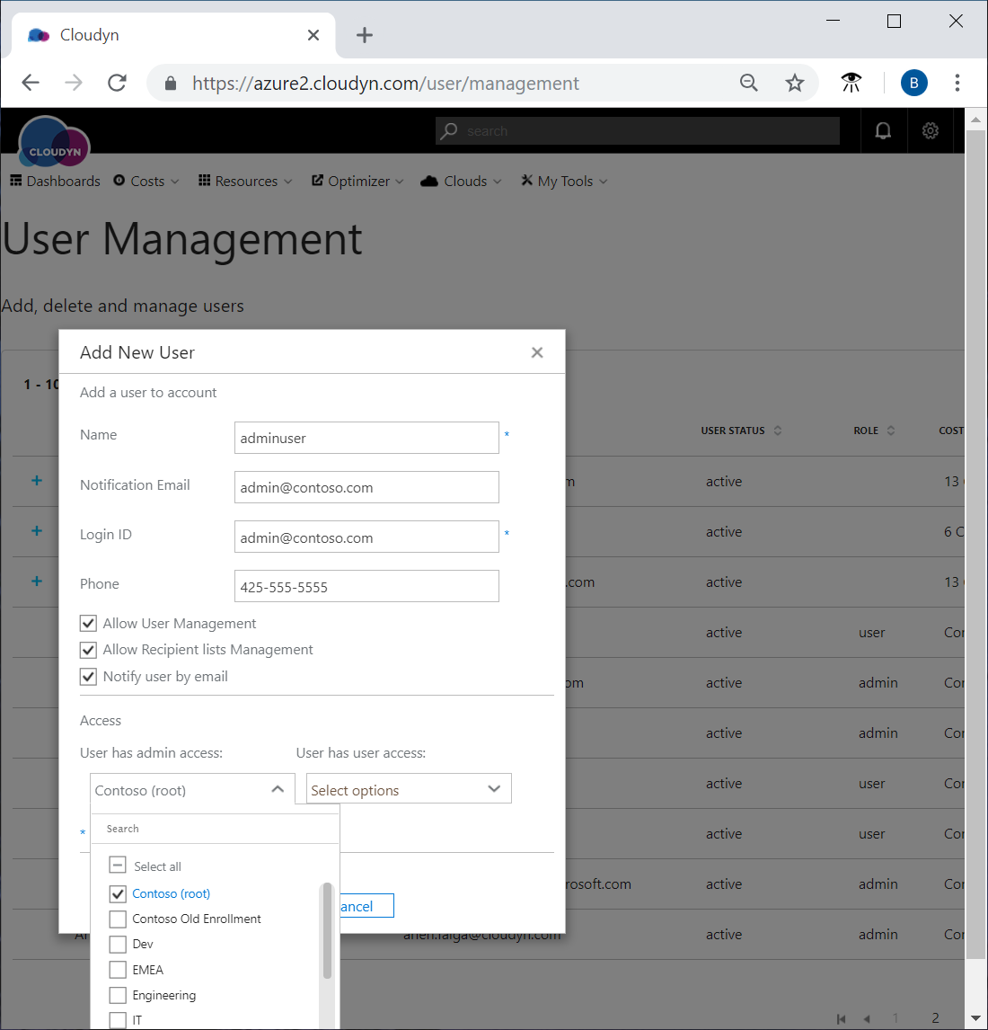 Tutorial assign access in azure cost management microsoft docs add new user with admin access baditri Choice Image