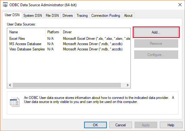 Connect to Azure Data Explorer with ODBC | Microsoft Docs